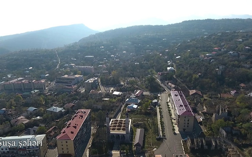 Аэровидеосъемкаиз города Шуша