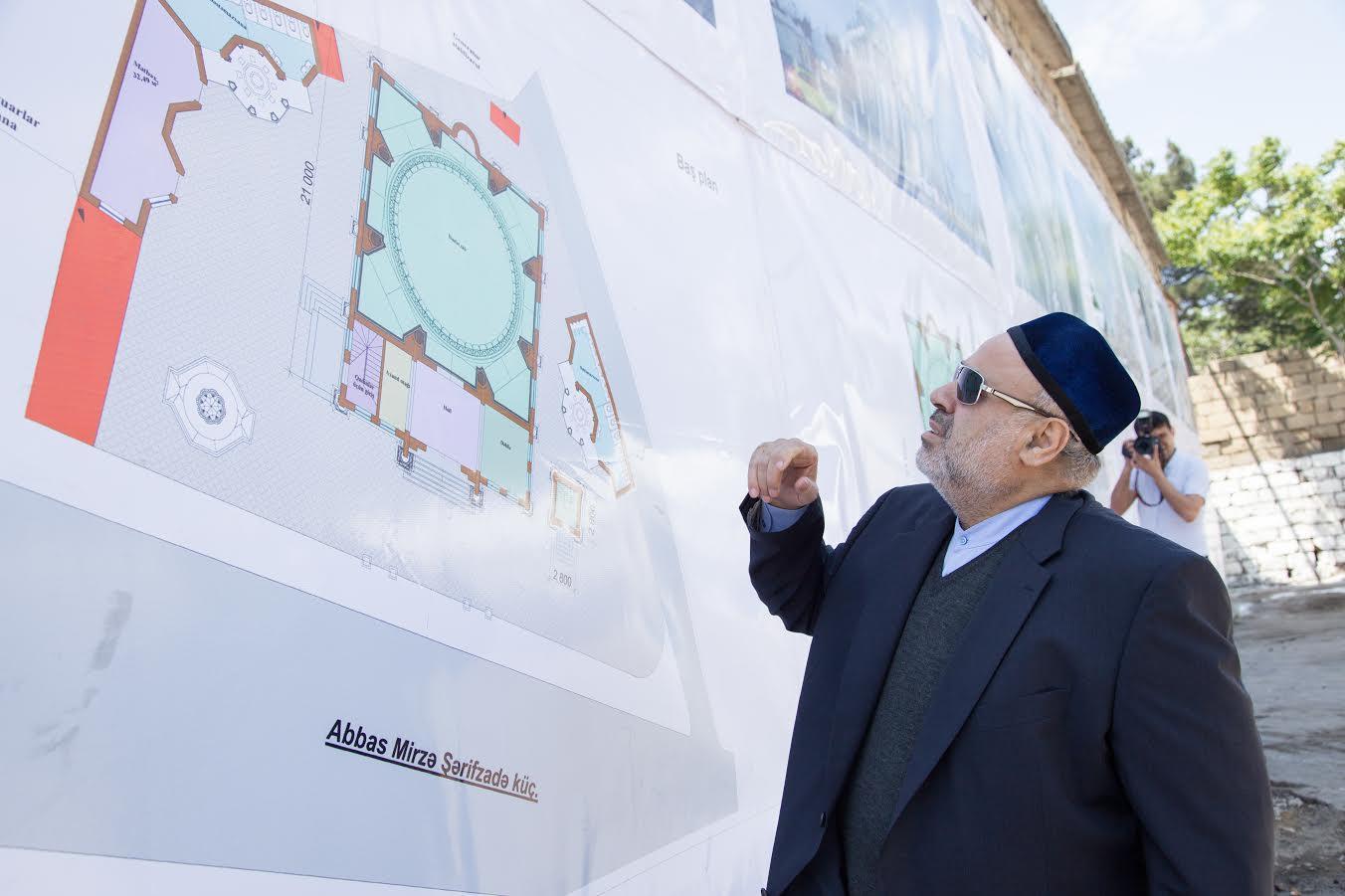 В Ясамале построят новую мечеть Хаджи Джавад