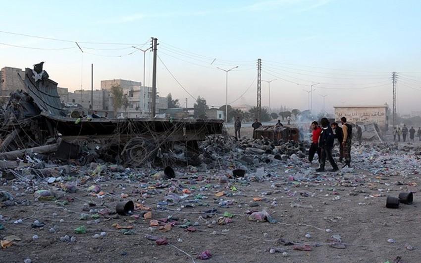 Suriyada aviazərbələr nəticəsində 10 mülki vətəndaş ölüb