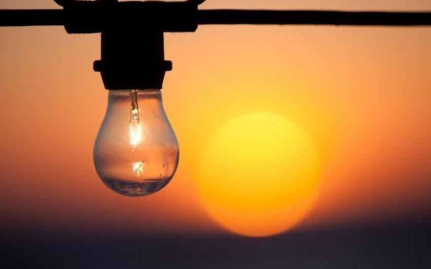Xaçmazda elektrik enerjisinin verilişi bərpa edilib
