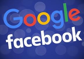 """ABŞ-da """"Facebook"""" və """"Google""""a qarşı 4 yeni məhkəmə iddiası qaldırıla bilər"""