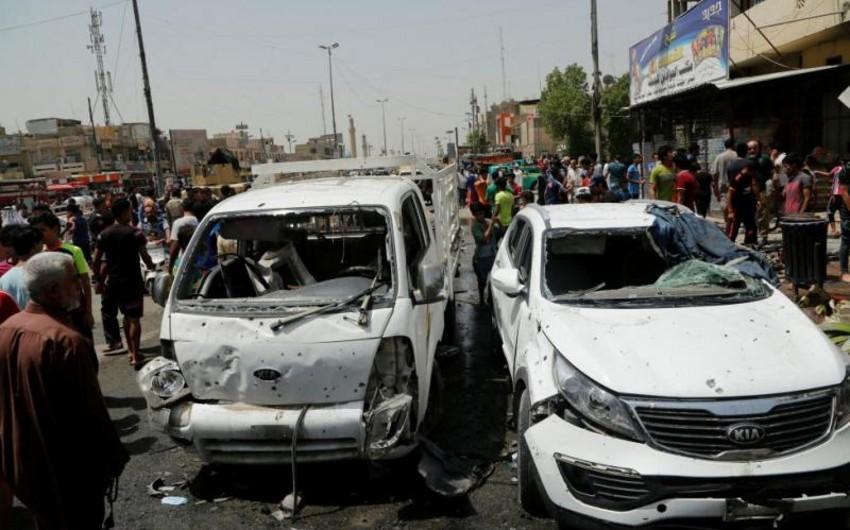 Bağdadda avtomobil partladılıb, 17 nəfər ölüb