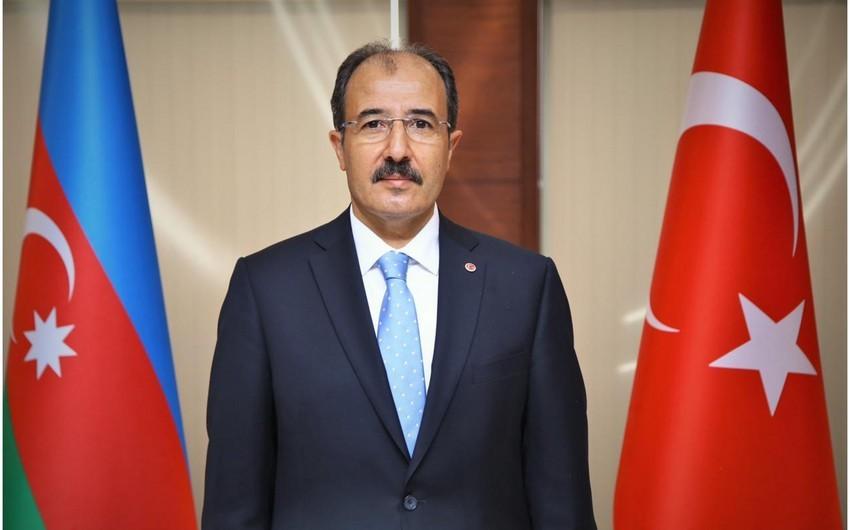 Türkiyə səfiri Azərbaycan xalqını təbrik edib