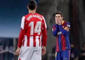 Messi ilk qırmızıya görə ağır cəzalanacaq