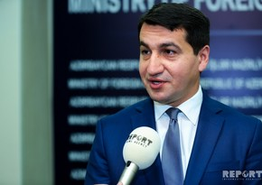 Hikmet Hajiyev: Azerbaijan's view on the conflict was explained to co-chairs once again