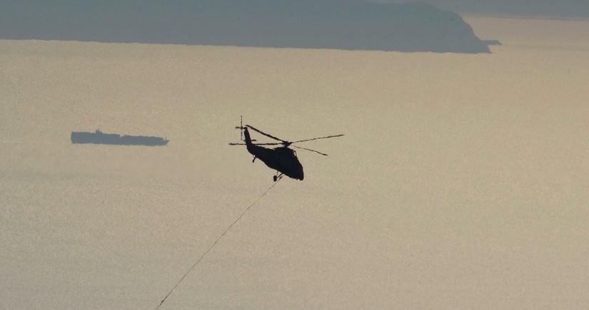 Çində helikopter qəzaya uğrayıb, 2 nəfər ölüb