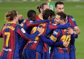 Барселона обыграла Бетис в матче Ла Лиги