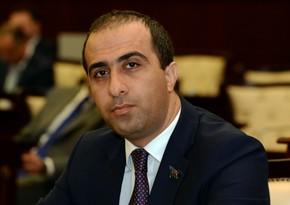 Milli Məclisin deputatına töhmət verildi