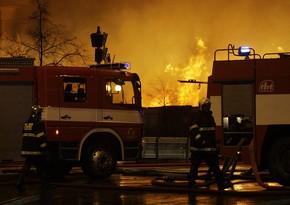 В результате пожара в Чехии пострадали 14 человек