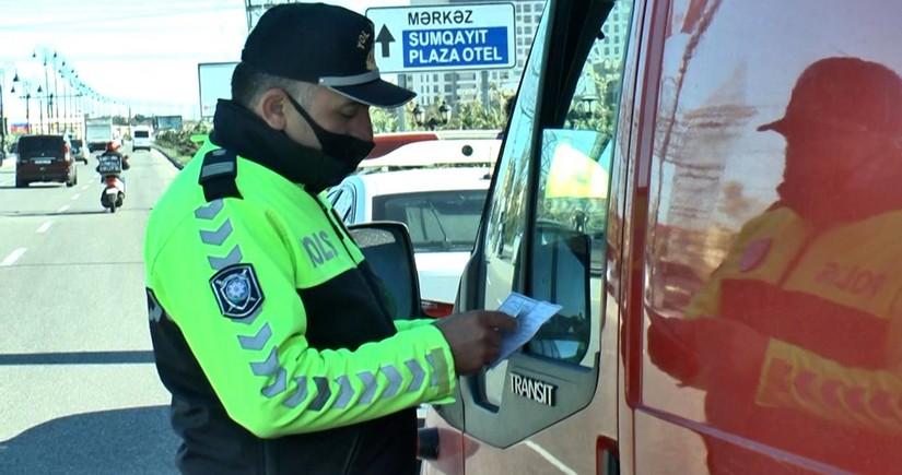 Sumqayıtda peyvənd olunmayan taksi sürücüləri cərimələnib