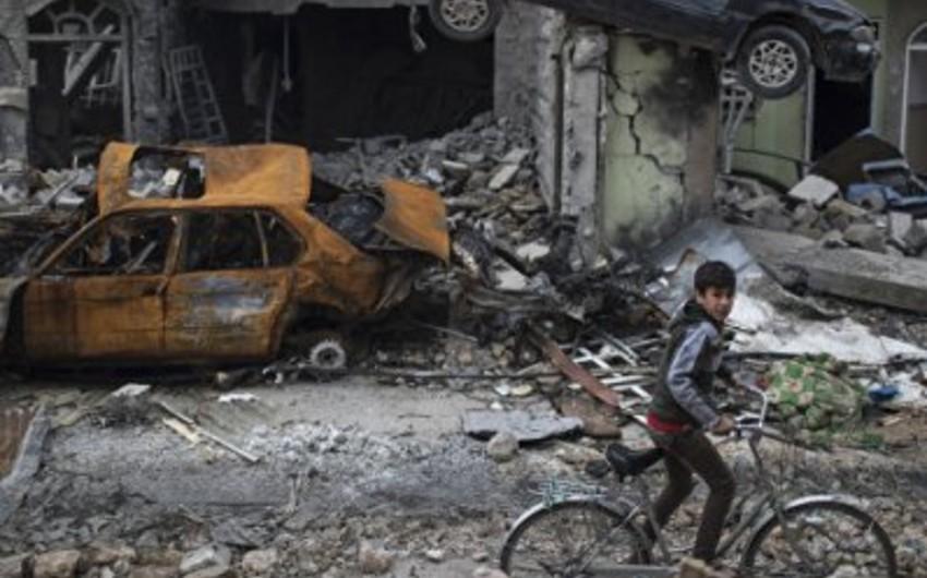 BMT rəsmisi Mosuldakı humanitar vəziyyəti fəlakət adlandırıb