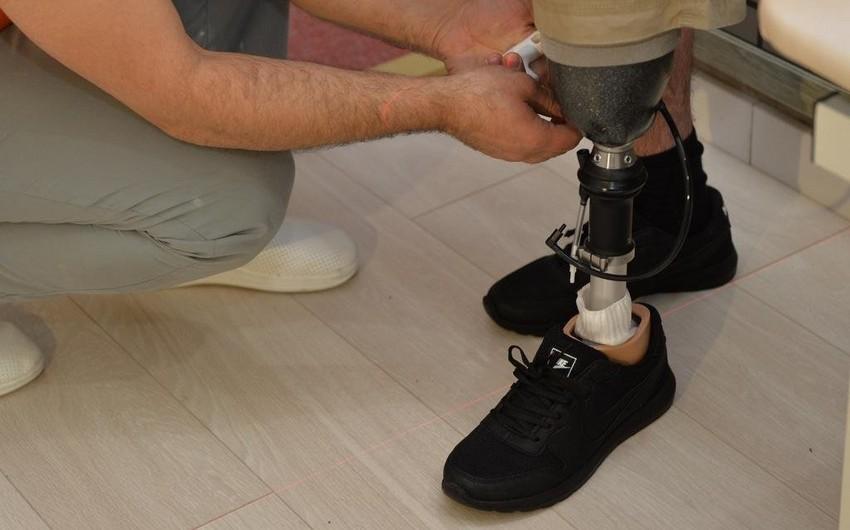 50 qazinin protezlərlə təminatı prosesi yekunlaşır