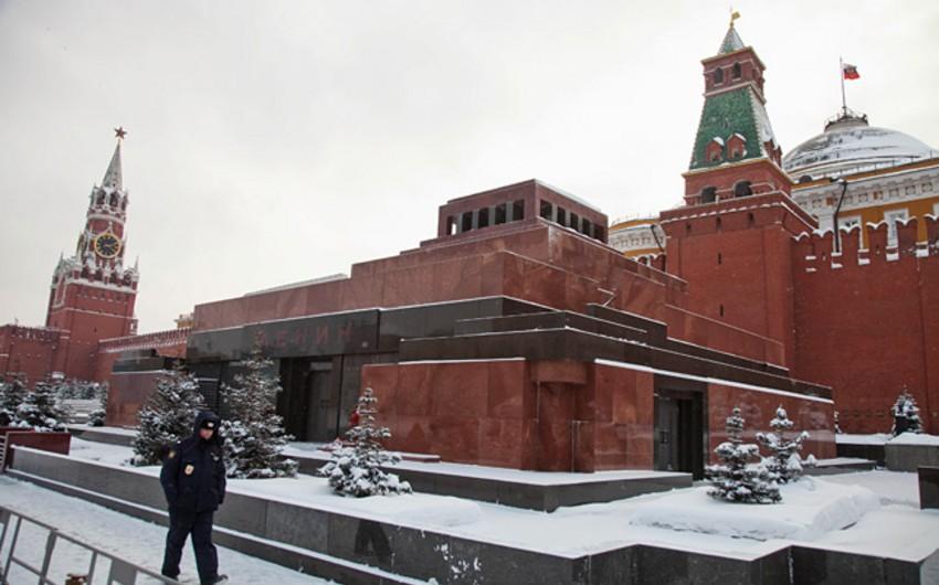 Lenin mavzoleyi bu gündən etibarən fəaliyyətini dayandırır