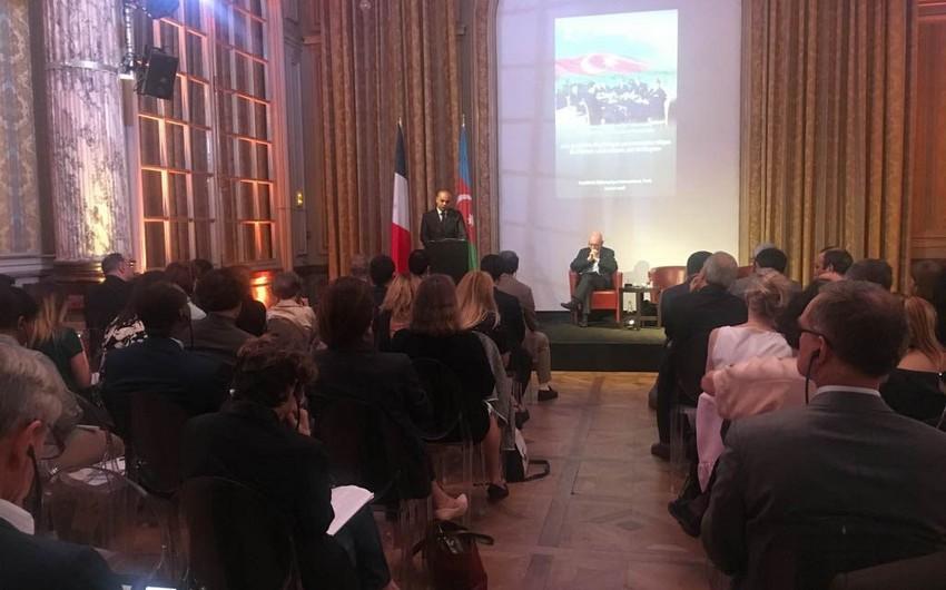 Parisdə ADR-in 100 illiyinə həsr edilmiş konfrans keçirilib - FOTO