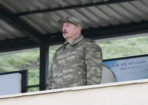 Президент: Народ Азербайджана почти 30 лет ждал приказа Верховного главнокомандующего