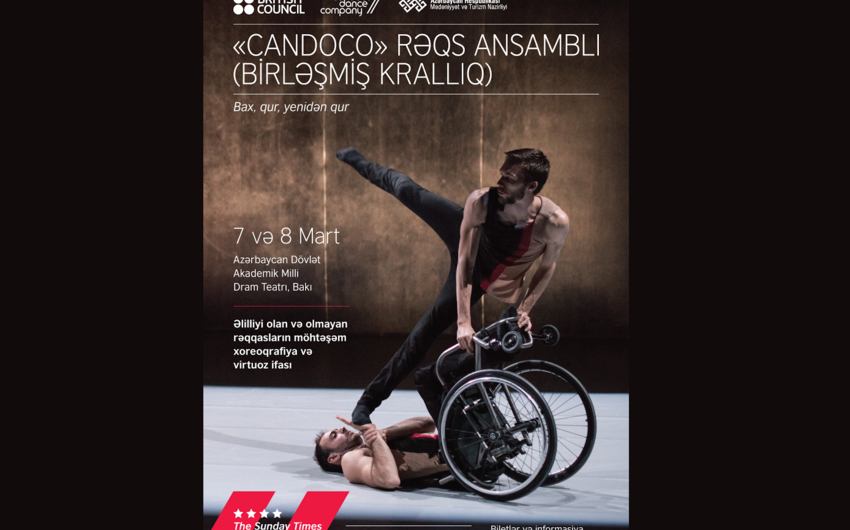 World-renowned inclusive dance ensemble to perform in Baku
