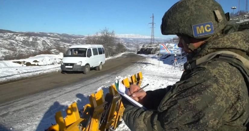 Russian servicemen in Karabakh hold anti-terrorist training