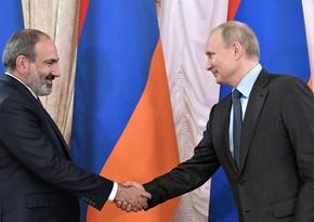 Putin Paşinyanla görüşməyə tələsmir