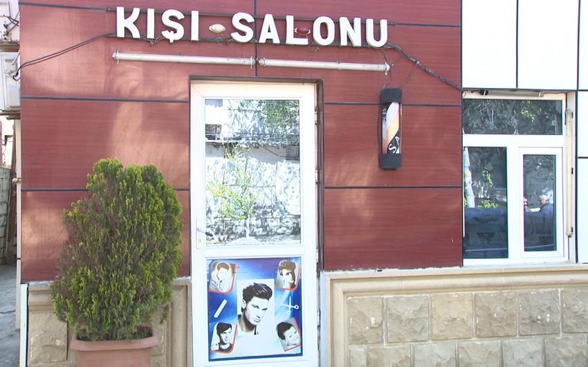 Bakıda karantini pozan bərbər salonu aşkarlandı - VİDEO - YENİLƏNİB