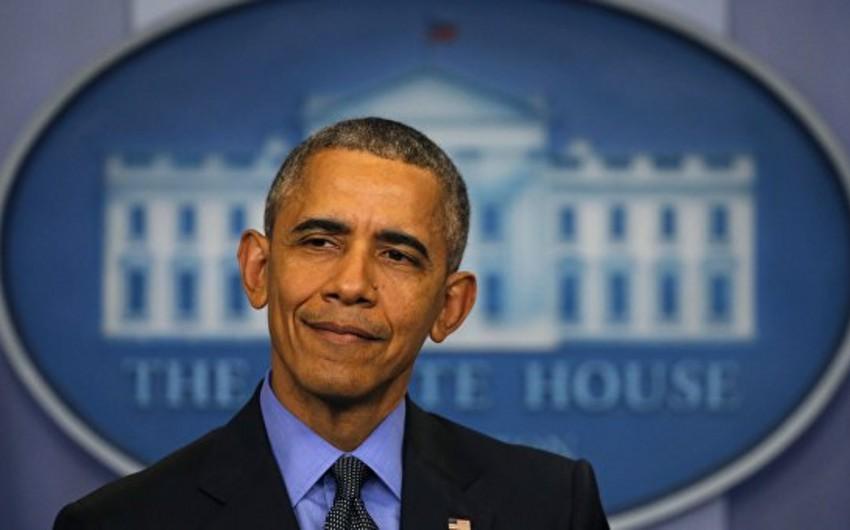 Barak Obama Liviyaya yönələn İŞİD döyüşçülərinin sayının artdığını bildirib