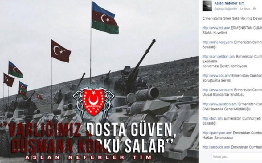 Türk hakerləri Ermənistanın dövlət orqanlarının saytlarına kiber hücumu edib