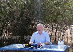 Nazir müavini: Aviasiyamız yanğın bölgələrinə 1 404 ton su boşaldıb