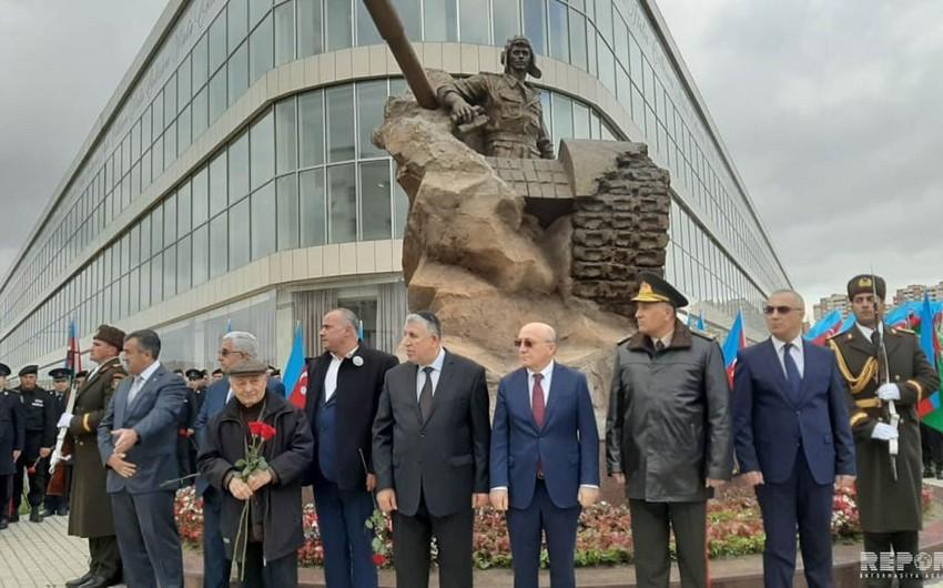 Состоялось открытие памятника Альберту Агарунову