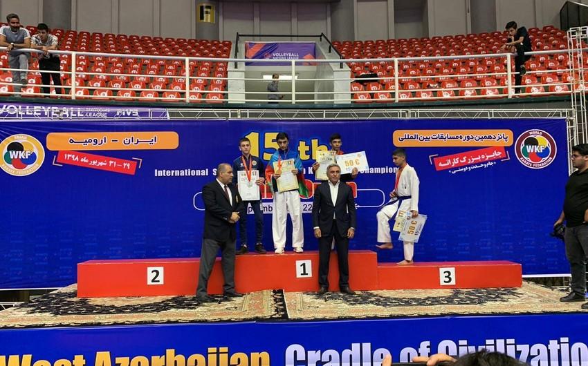 Azərbaycan karateçisi ermənini məğlub edərək qızıl medal qazanıb