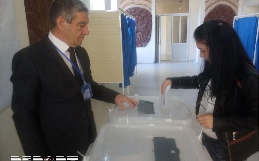 В северном регионе за процессом голосования следят местные и иностранные наблюдатели - ФОТО