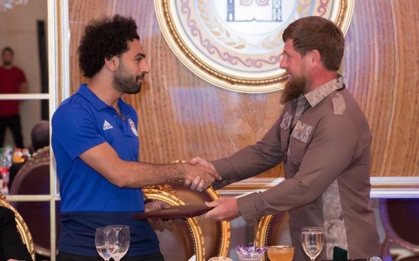 Кадыров присвоил Салаху звание почётного гражданина Чеченской Республики