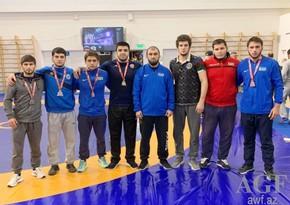 Азербайджанские борцы взяли 4 медали в Москве