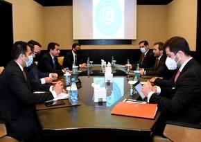 Хикмет Гаджиев встретился с главойуправления Администрации президента Турции