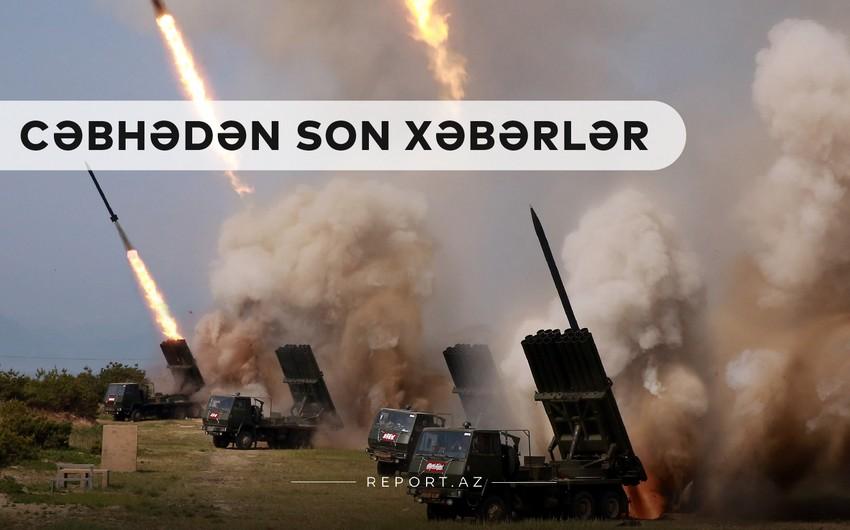 Cəbhədən son xəbərlər: Ermənistan 3 rayona ballistik raket atdı