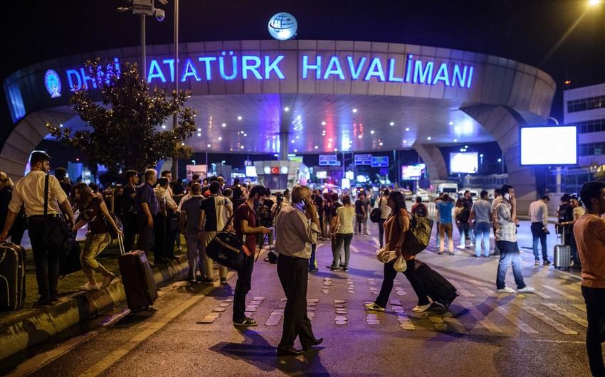 Partlayış zamanı Rumıniyanın sabiq baş naziri Atatürk Hava Limanında olub