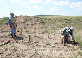 ANAMA: Demining operations continue in Fuzuli