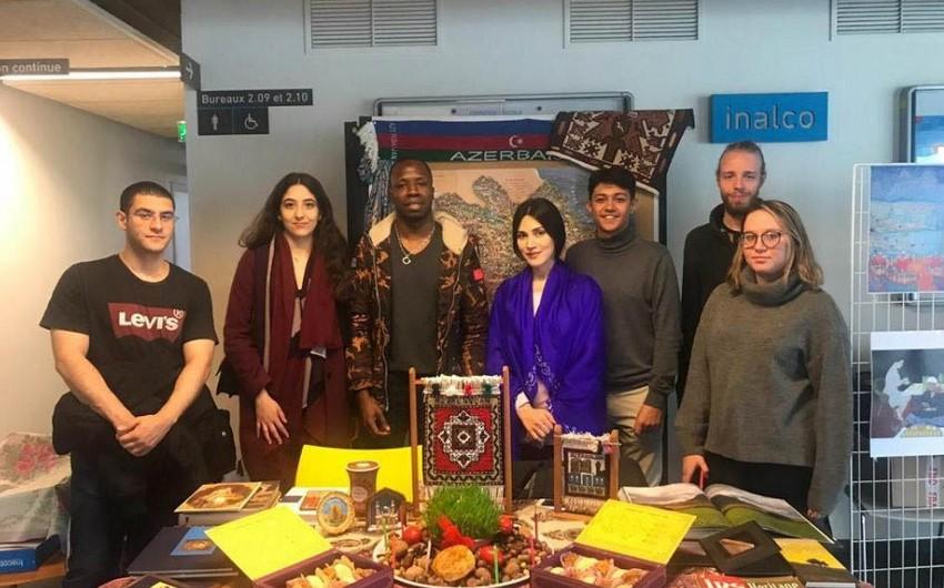Fransanın Dövlət Şərq Dilləri və Sivilizasiyaları İnstitutunda Novruz bayramı qeyd olunub
