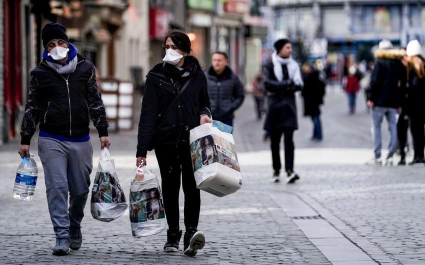 Ötən gün Belçikada koronavirusdan ən çox ölüm qeydə alınıb
