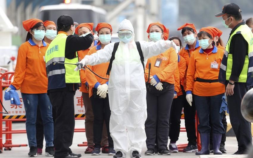 Son bir gündə Çinin 24 bölgəsində koronavirus aşkarlanmayıb