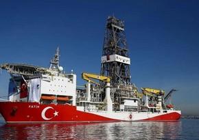 Türkiyə gəmisi Qara dənizdə yeni qazma işlərinə başladı
