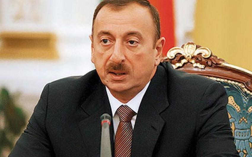 Azərbaycan prezidenti: Keçmiş SSRİ-dəki münaqişələri BMT TŞ-nin qətnamələri əsasında həll etmək lazımdır