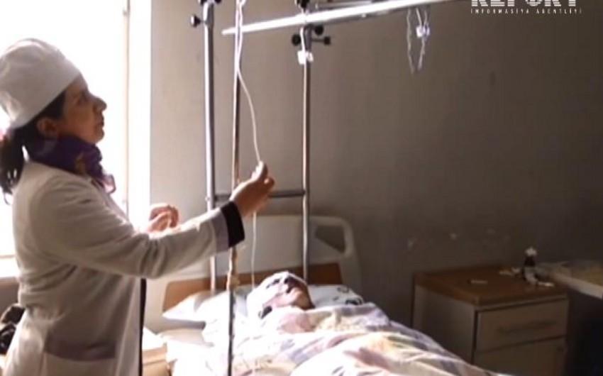 Baş həkim: Bərdə xəstəxanasına bir nəfərin cəsədi, iki yaralı gətirilib - FOTO - VİDEO