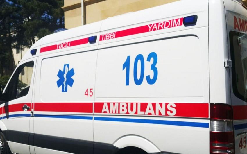 Qazaxda avtomobilin vurduğu piyada xəstəxanada ölüb