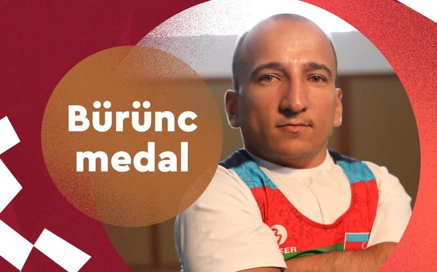 Azərbaycan Tokio-2020 Yay Paralimpiya Oyunlarında ilk medalını qazanıb