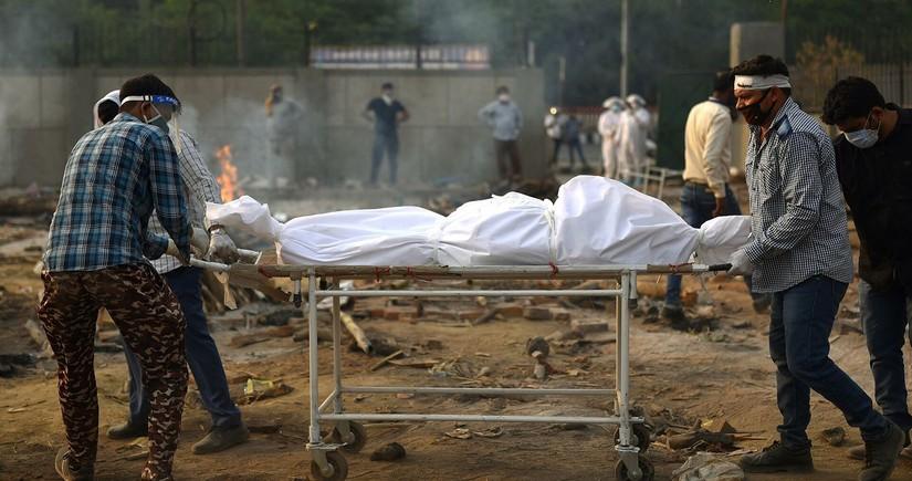Hindistanda daha bir koronavirus anti-rekordu qeydə alınıb