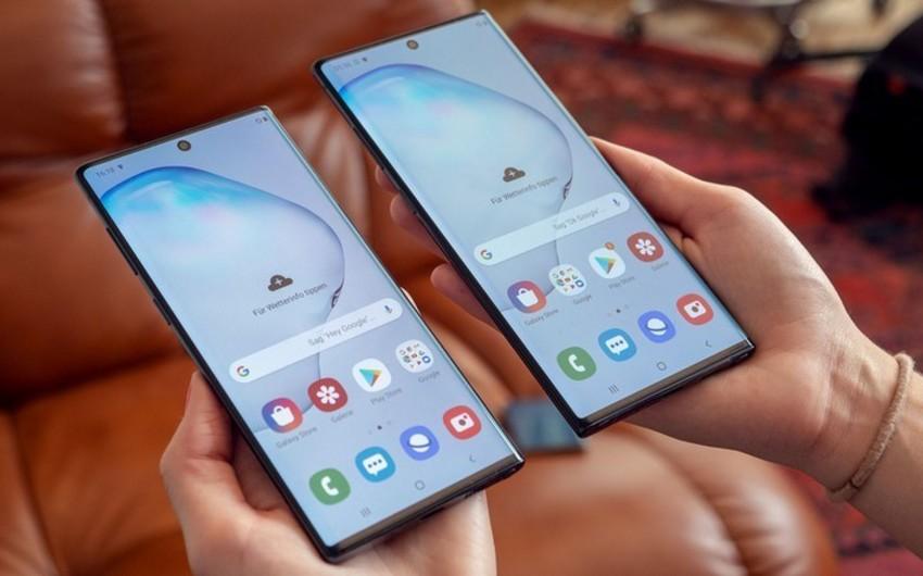Yeni Samsung Galaxy Note 10 smartfonunun satışına başlanılıb