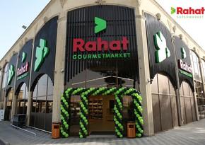 """Bakıda daha bir filialımız – """"Rahat"""" Gourmetmarket açıldı"""