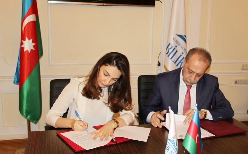 Bilik Fondu ilə Azərbaycan Universiteti əməkdaşlığa dair Anlaşma Memorandumu imzalayıb