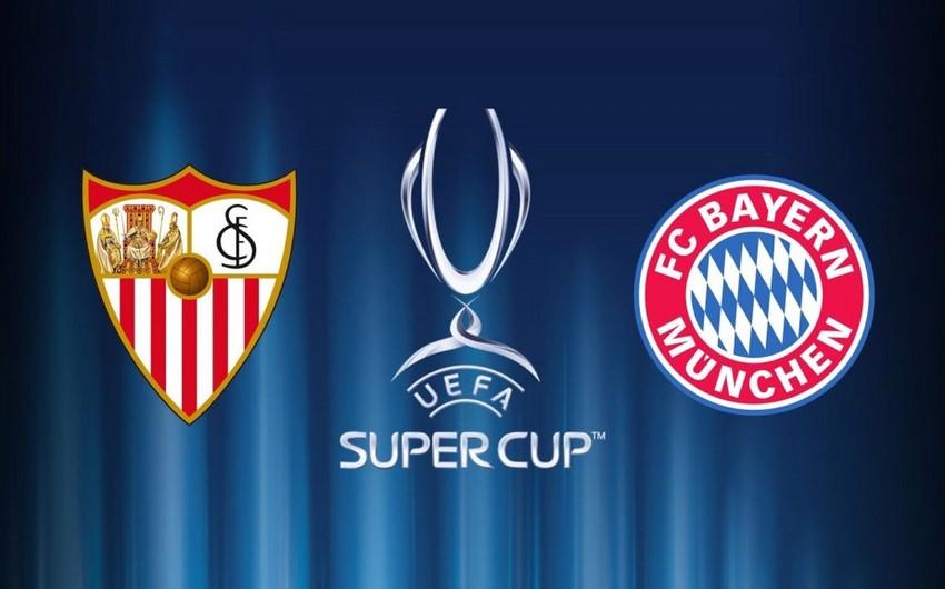 UEFA Super Kuboku: Bavariya Sevilyaya qarşı
