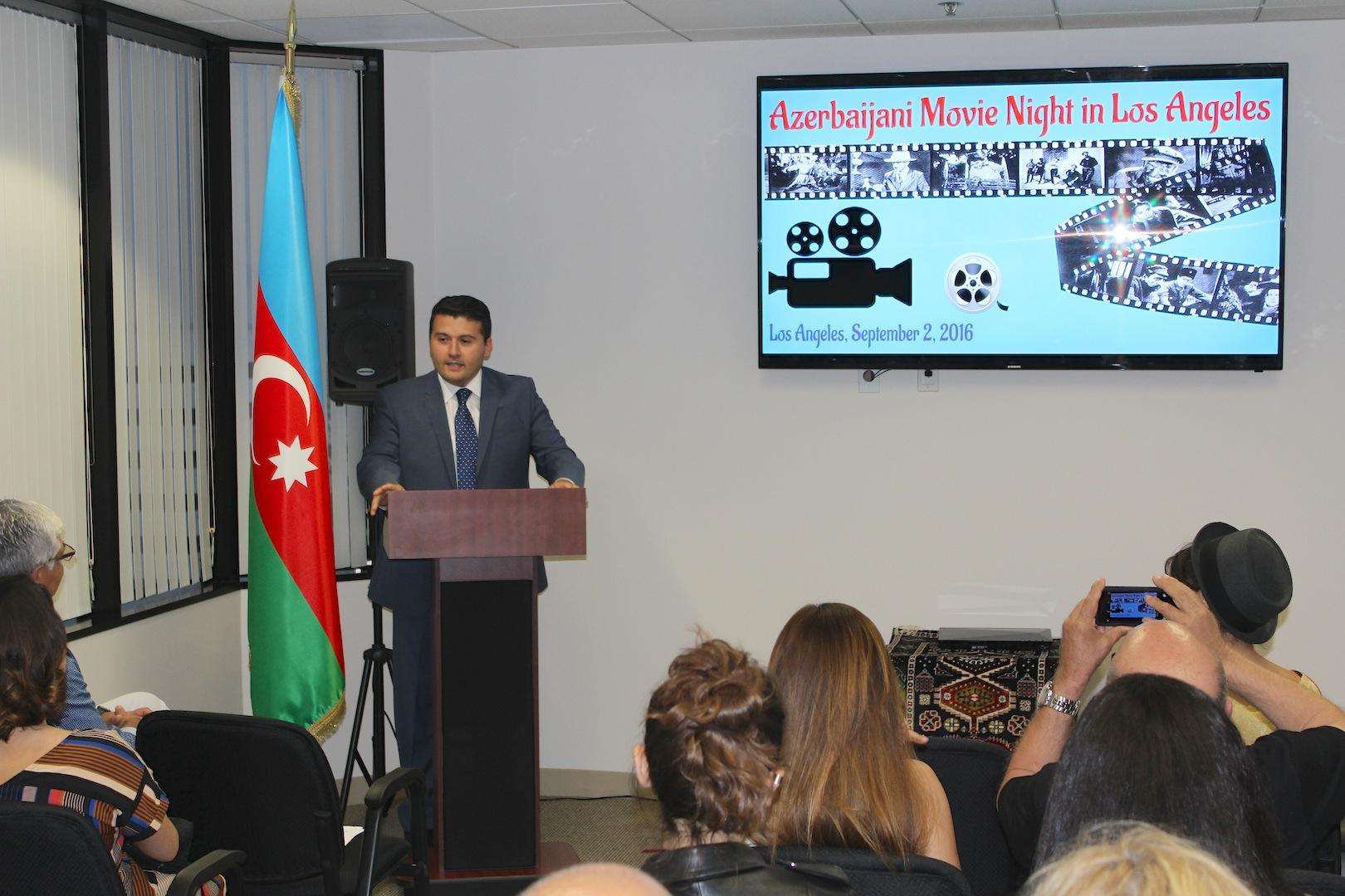 'Azerbaijani Movie Night' series launched in Los Angeles