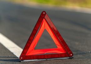 Qazaxda piyadanı avtomobil vurdu